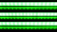 Led Strip slide down loop Rgb colour Stock Footage