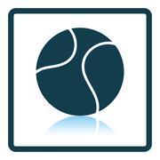 Tennis ball icon Stock Illustration