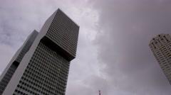 De Rotterdam Skyscraper Stock Footage