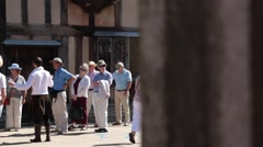 Shakespear'e birthplace, Stratford upon Avon Stock Footage