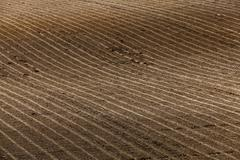 Plowed agricultural land Stock Photos