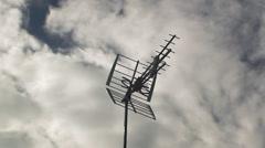 TV antenna timelapse Stock Footage