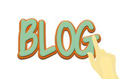 Blog image visibility Stock Illustration
