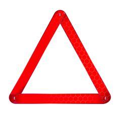 Vehicle Warning Triangle Stock Illustration
