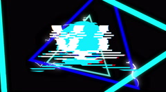 Vj Bright Logo - stock footage