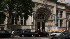 Victoria and Albert Museum Stock Footage