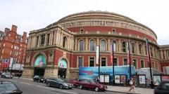 The Royal Albert Hall Stock Footage