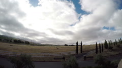 Napa Valley time lapse three Stock Footage