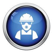 Repair worker icon Stock Illustration