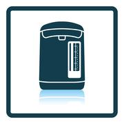 Kitchen electric kettle icon Stock Illustration