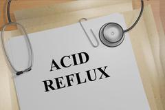 Acid Reflux - medical concept Stock Illustration