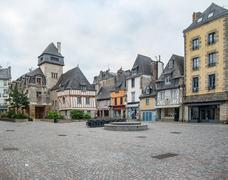 Quimper in Brittany - stock photo
