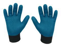 Pair Of Gloves For Heavy Duty Job Stock Photos