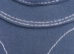 Blue nylon texture Stock Photos