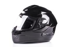 Black helmet Stock Photos