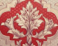 Rich pattern carpet Stock Photos