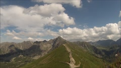 Polish Tatra Mountains. Stock Footage