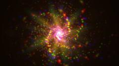 Cosmos andromeda nebula Stock Footage