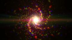 cosmos andromeda nebula - stock footage