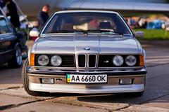 Kyiv, Ukraine - 23 APRIL, 2016: BMW M6 on exhibition of old cars - OldCarLand Stock Photos