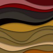 Colorful abstract waves texture background for text and message website desig Stock Illustration