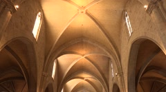 The Cathedral of Valencia- Spain Stock Footage