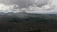 Rain Clouds Near Lough Veagh Stock Footage