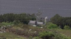 Glenveagh Castle Stock Footage