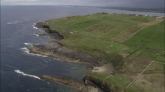 Mullaghmore And Coast Stock Footage