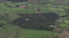 Sligo Field Patterns Stock Footage