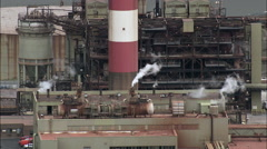 Industrial Works On Shannon Stock Footage