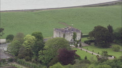 Glin Castle Stock Footage