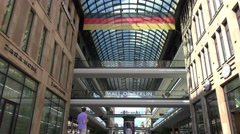 Mall of Berlin, is a shopping mall in Berlin Stock Footage