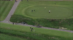 Waterville Golf Course Stock Footage