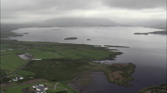 Waterville aerial Stock Footage