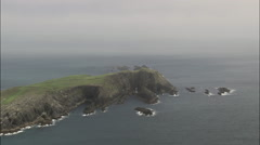 Cork Coastline At Crookhaven Stock Footage