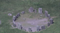 Dronberg Stone Circle Stock Footage