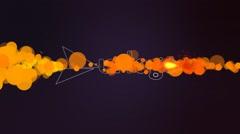 Particle Trails Logo Kuvapankki erikoistehosteet