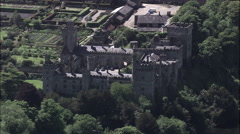Lismore Castle Stock Footage