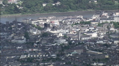 Waterford aerial Stock Footage