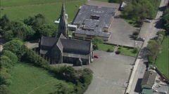 Wexford aerial Stock Footage