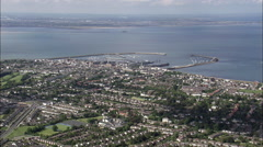 Dublin Harbour Stock Footage