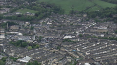 Bolton aerial Stock Footage