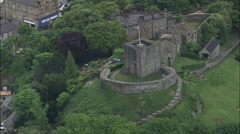Clitheroe Castle Stock Footage