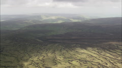 Forest Of Bowland Now Moorland And Bleasdale Moor Stock Footage