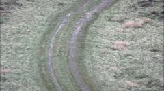 Blackstone Edge Roman Road Stock Footage
