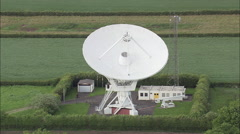 Pickmere Radio Telescope Stock Footage