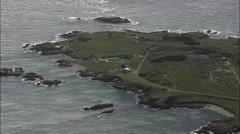 Alderney Island Stock Footage