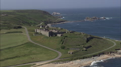 Fort Tourgis Stock Footage