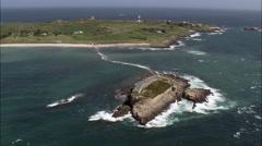 Coast Forts Stock Footage